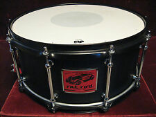 """Rare 06 DW Pacific Drums """"rat-rod"""" All Maple 6X14 Snare Drum Absolute Mint Cond!"""