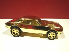 Hot wheels FAO Schwarz 67 camaro mint loose set gold only toy store