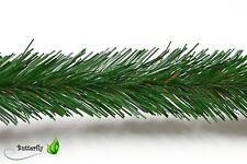3m Bastel Tannen Girlande 5cm Floristik Tannenkette Weihnachtsgirlande 50mm Gras