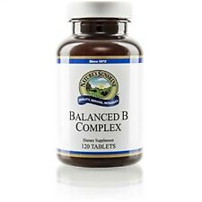 Natures Sunshine Vitamin B Complex, Balanced (120 tabs)