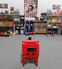 """1:18 """"Toy""""  GMP Parts Tool ( Sand Blaster Only ) Red Cabinet for Garage Diorama"""