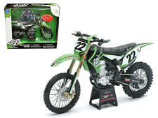 "KAWASAKI KX 450F DIRT BIKE ""TWO TWO "" CHAD REED #22 1/12 BY NEW RAY 57687"