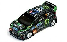 1/43 Ford Fiesta RS WRC Monster Energy Rally México 2012 Chris Atkinson