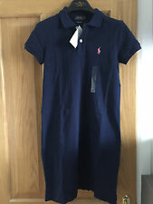BNWT Gorgeous Ralph Lauren Polo polo Dress Ladies Size M RRP £140