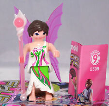 Playmobil 5599 Figures Girls Serie 9 # 8   Fee Elfe Flügel Zauberstab  NEU