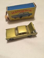 Matchbox 31 Lincoln continental excellent boxed