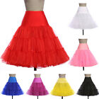 ROCK N ROLL 50s Retro Underskirt Swing Vintage Petticoat Skirt Dress