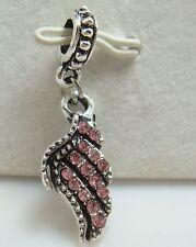 European Silver Charm Bead Fit sterling 925 Necklace Bracelet Chain US al23