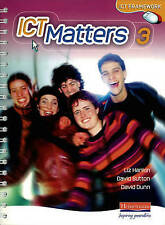 ICT Matters: 3 Yr 9 Pupils Book Workstation Edition (ICT Matters)-ExLibrary