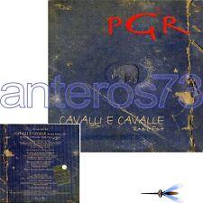 """PGR LINDO FERRETTI GIORGIO CANALI MAROCCOLO """"CAVALLI E CAVALLE"""" RARO CDs PROMO"""