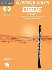 Classical Solos for Oboe, Vol. 2 : 15 Easy Solos for Contest and Performance...