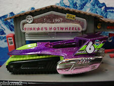 2013 ROAD ROCKETS Design Ex TREAD AIR∞Purple; Green∞LOOSE∞Hot Wheels Imagination
