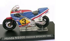 MODEL MOTO - HONDA NS500 - FREDDIE SPENCER - 1983 - SCALA 1:24