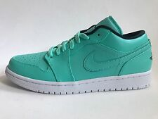BRAND NEW NIKE AIR JORDAN 1 LOW HYPER TURQUOISE US 10.5 WINGS MINT BRED SBB