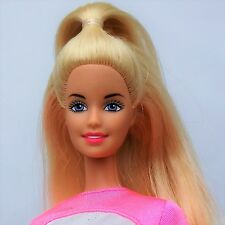 2000 Picture Pockets Barbie Doll Blonde Bright pink outfit