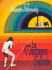 THE HOLY MOUNTAIN Movie Poster RARE European Version Alejandro Jodorowsky 32""