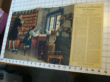 Vintage Printing Sample: A HISTORY OF PHARMACY IN PICTURES thom #2