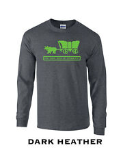 202 Died of Dysentery Long Sleeve college funny video game Oregon west cool comp