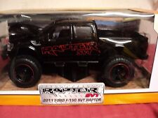 "Jada 2011 Ford F-150 SVT Raptor ""Off Road""   1:24 Scale NIB gloss Black"