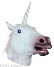 Magical Mask Unicorn Head Party Halloween Costume Prop Fancy Wear Creepy Cosplay