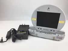 PSONE LCD Screen (used nonpack) + PSONE Auto AC Adaptor Power Supply Cord