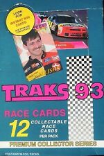 1993 TRAKS RACING PREMIUM NASCAR COLLECTOR SERIES COMPLETE SET 1-150