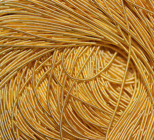 """340"""" Inches Gold Rough Purl Jaceron Gold Bullion Wire for Embroidery French Cord"""