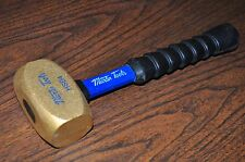 MARTIN SPROCKET & GEAR 4 Lbs Brass Hammer with Super Grip Fiberglass Handle HSB4