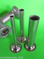 (3) SET sausage stuffer tubes for VINTAGE Kitchenaid Mixer meat grinder chopper