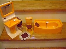 Sindy Doll Bathroom Toilet Sink and Bathtub