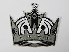 """LOT OF (1) HOCKEY LOS ANGELES KINGS CROWN PATCH PATCHES (4"""" x 3 1/2"""") ITEM # 83"""