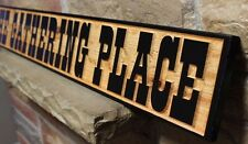 Custom Carved Wood Sign Rustic Farmhouse Kitchen Dining Decor Country Gathering