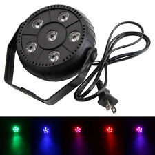 18W RGB LED 6X3W Stage Light Disco DJ DiscoBar Effect Lighting Show Decor