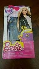 NEW! 2015 BARBIE FASHION PACK SEPERATES CLOTHES TOPS DENIM VEST NIP