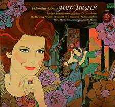 MADY MESPLE LP COLORATURA ARIAS VERDI DONIZETTI ROSSINI BELLINI