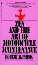 Zen and the Art of Motorcycle Maintenance: An Inquiry into Values - Acceptable -
