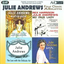 Four Classic Albums [Julie Andrews] [2 discs] New CD