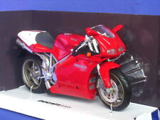 DUCATI 998 S 998S NEW RAY 43693 1:12 NEW MODEL BIKE RED MOTORBIKE NEWRAY