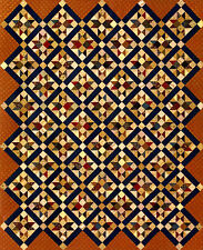 Regimental Stars-Inspired By an Antique Quilt by Red Crinoline Quilts
