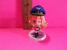 "Macross Sexy Sheryl Nome 3""in Figure Dressed role play Outfit with Airline Hat"