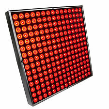 "HQRP 45W Square Red 225 LED Grow Light Panel / Lamp 12"" x 12"" with Hanging Kit"