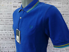 FRED PERRY Polo Shirt Regal M9231 TWIN TIPPED Size-S CLASSIC FIT Top BNWT RRP£65