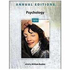 Annual Editions: Psychology 12/13 - Buskist, William - Paperback