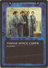 """Doctor Who MMG CCG - Character """"Marine Space Corps"""" Card"""