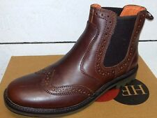Men's Heavenly Feet Hunter Leather Pull On Brogue Boots