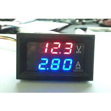 DC 100V 10A Voltmeter Ammeter LED Display Digital Volt Amp Meter Gauge uk