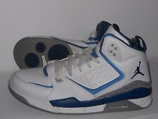 NIKE AIR JORDAN SC-2 Basketball Shoes Men's Size 12 454250-101 White/French Blue