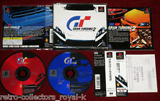 *Complete* PS1 Classic Game GT GRAN TURISMO 2 NTSC-J Japan Import PlayStation