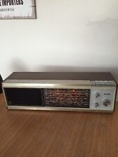 Vintage Radio PHILIPS table top 1960's Retro perfect worker 22rb292/65z Silver