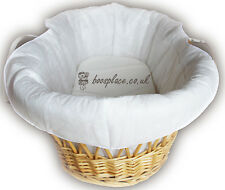 Lollipop Lane Thick Padded Moses Basket Liner, (No Basket)